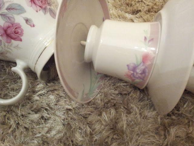 ..Twigg studios: diy tea cup lamp tutorial