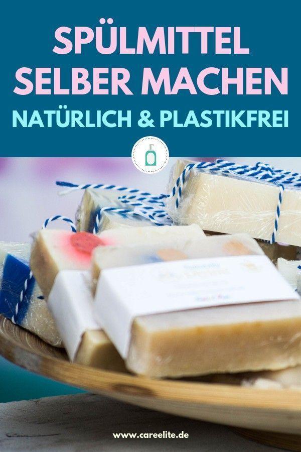 Spülmittel selber machen aus Natron & Pflanzenseife