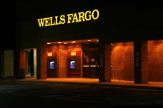 A former Wachovia branch converted to Wells Fargo in the fall of 2011 in Durham, North Carolina.