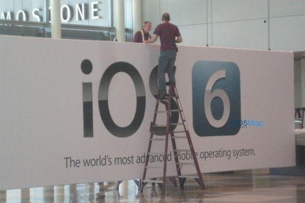 iOS 6 afsløres på WWDC 2012