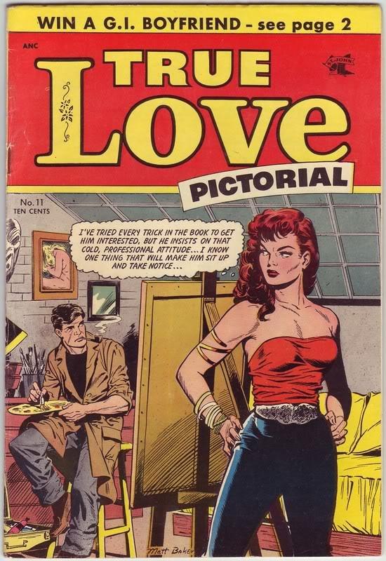 Matt Baker | True Love Pictorial #11 | St. John | 1952
