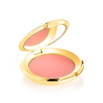 This Elizabeth Arden cream blush melts into skin, giving cheeks a natural-looking pink flush with a dewy finish.