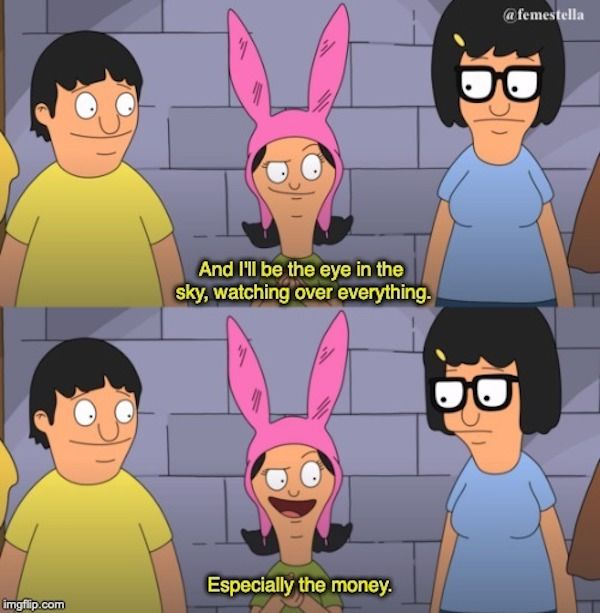 7 Times Louise Was A Ruthless Girl Boss Animated Tv Tv Shows Funny Louise Belcher Quotes