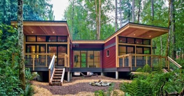 Prefab Modern House with a MUST SEE Interior