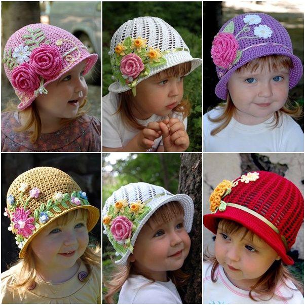En voyant ces superbes chapeaux au look ancien, je me dis que j'aurais bien aimé apprendre le crochet! Mais pas avec n'importe qui! Avec ma chère grand-maman... Nous aurions passé de beaux moments ensemble, je suis certaine qu'elle aurait adorée mon