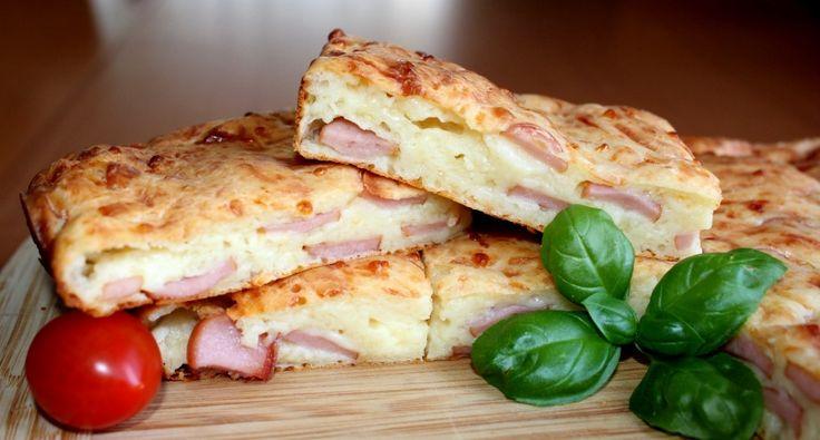 Virslis-sajtos lepény recept | APRÓSÉF.HU - receptek képekkel