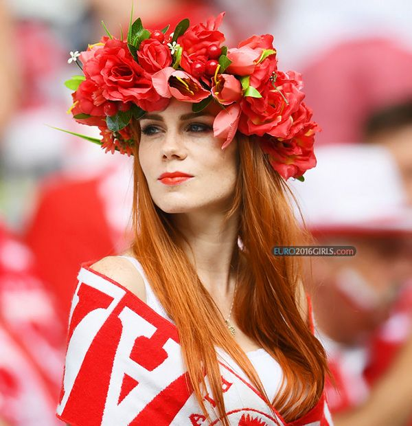 Girl of the Game: Switzerland - Ponald: http://euro2016girls.com/girl-of-the-game-25-jun-switzerland-poland/  #EURO2016 #Switzerland #Poland #football #hot #girl