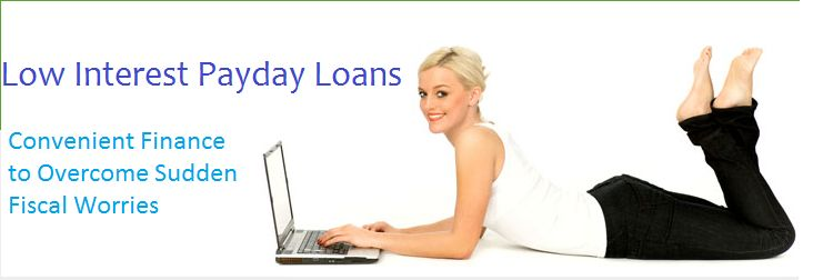 Low Interest Payday Loans are the source of quick cash without high charges, this is totally time saving technique because there is no paper work or no long procedure for getting the loan amount. To avail this deal simply fill up the application form through online method and get your cash. http://www.lowinterestpaydayloans.org.uk