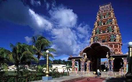 Mauritius' capital Port Louis has several cultural attractions including Chinese and Indian temples