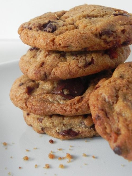 Brown Butter Bacon Chocolate Chip Cookies! So YUM