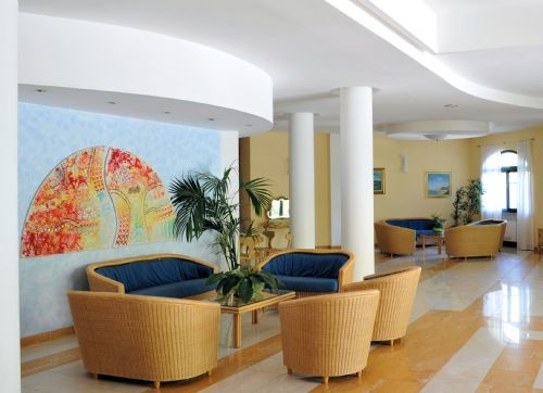 Our bright lounge...