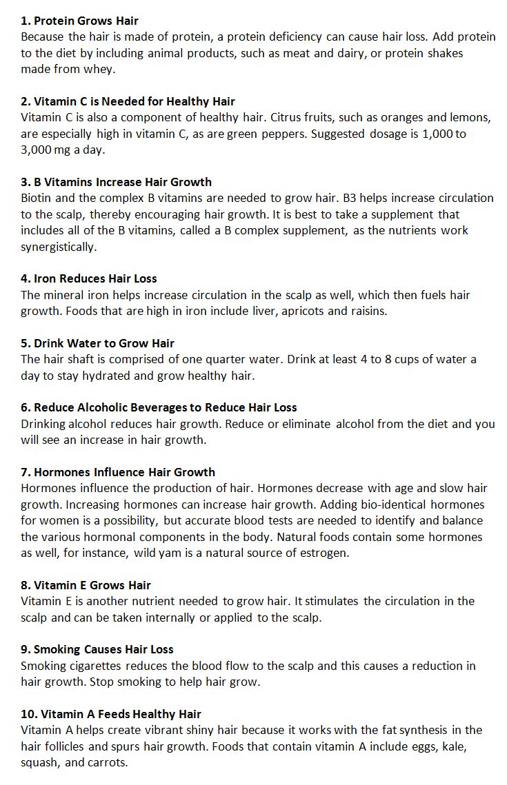how to grow healthy natural hair
