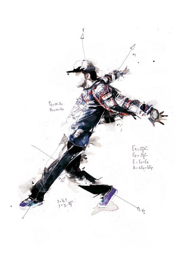 Break Dance - Volnorez by Florian NICOLLE, via Behance