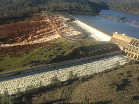 OROVILLE DAM UPDATE Spillway Repairs Get Started With Little Room For Er...
