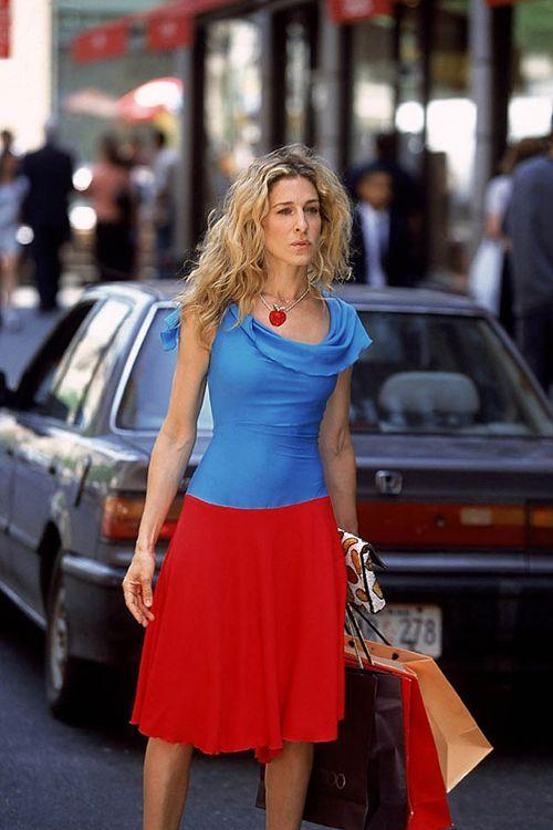 Carrie Bradshaw style, season 4