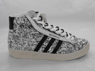 Adidas Adicolor High Black BK2 Keith Haring Jeremy Scott