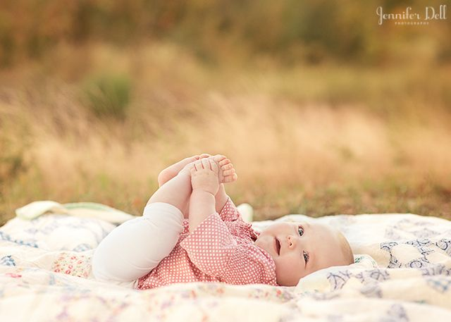 "learn how to pose babies during a photography session by Jennifer Dell | great ""flow"" in this series of shots"