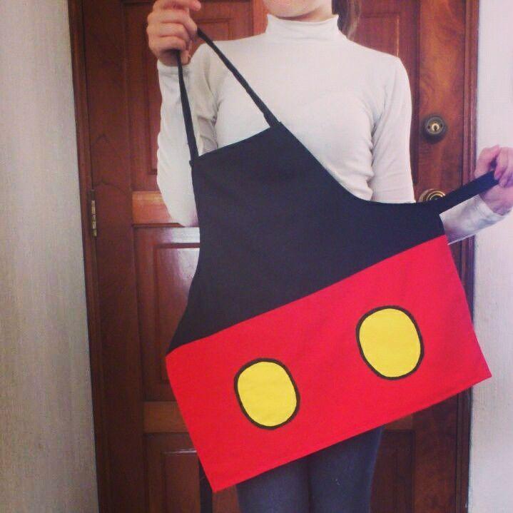 Mikey mouse children apron