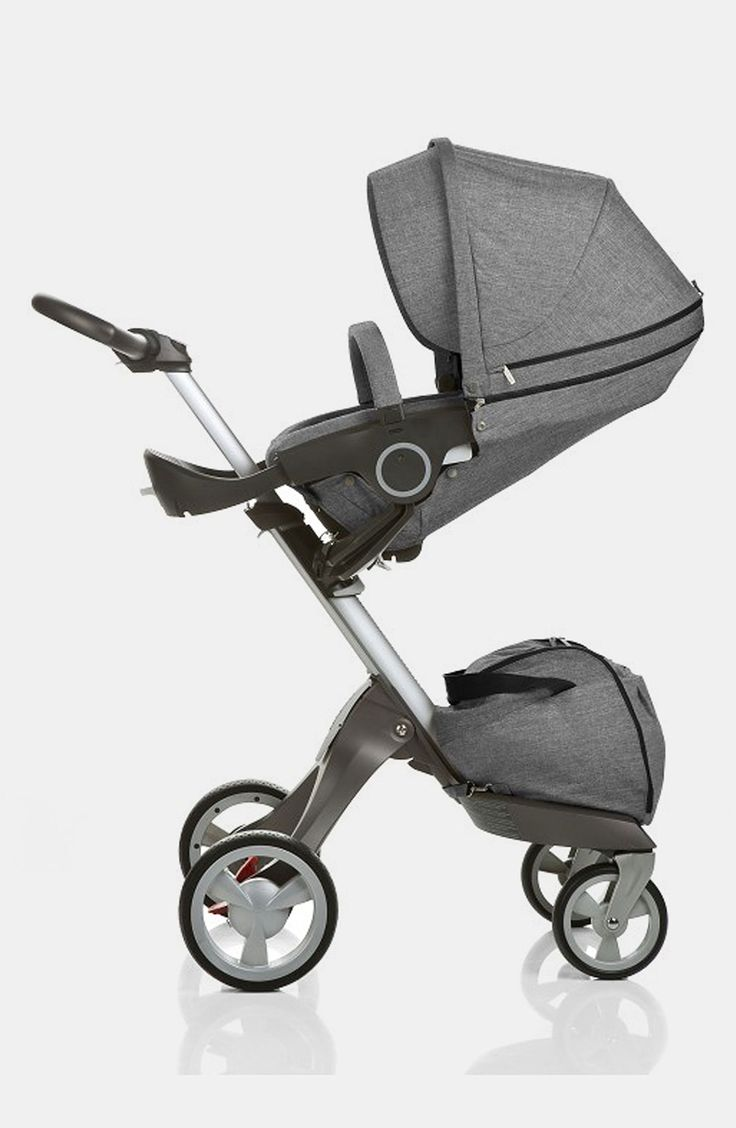 Stokke® 'Xplory' Stroller in luxe black melange