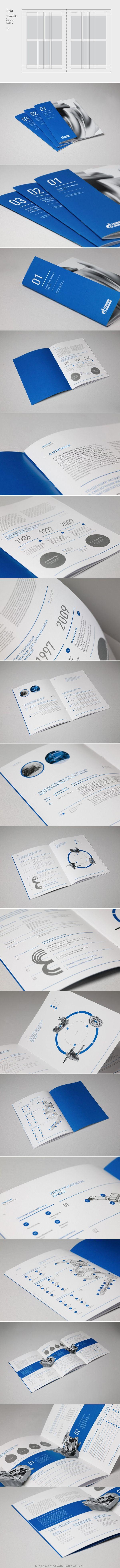 corporate layout   ----  Gazpromneft booklets by Dima Kuzmichev