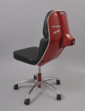 .Vespachair, Sillas Vespas, Vespas Seats1, Scooters, Interiors Design, Furniture, Offices Chairs, Vespas Chairs, Chairs Inspiration