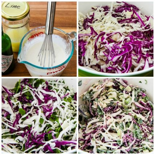 Spicy Mexican Slaw with Lime and Cilantro | Recipes for ...