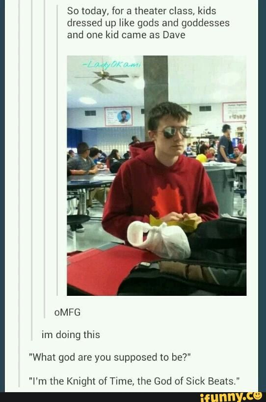 *waves arm in air* THIS IS ME! CASUAL COSPLAYING EVERY FRIDAY!!!!(not the actual guy in the picture)