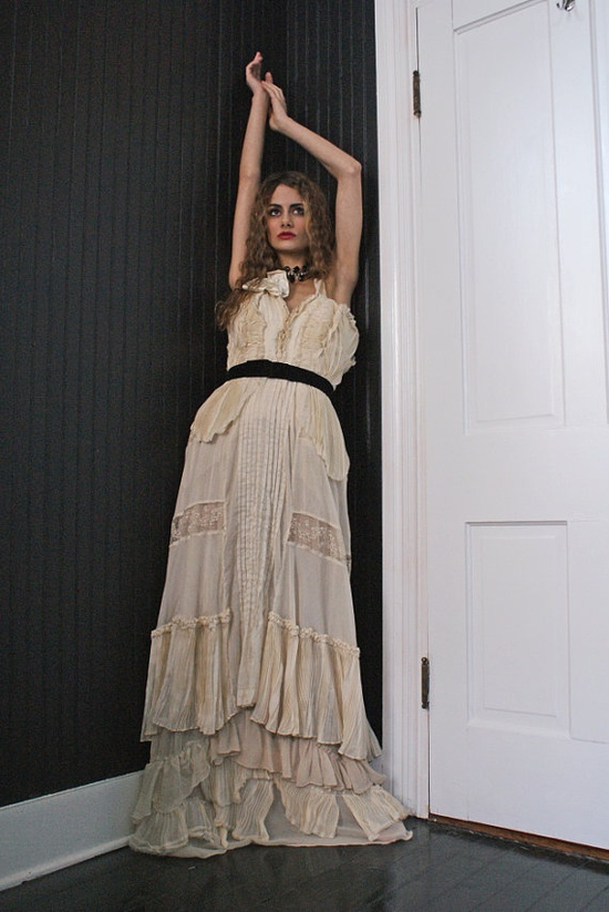 boudoirqueen | Boudoir Queen 1 / Couture Fall 2013 Evening Gown all Victorian by ...