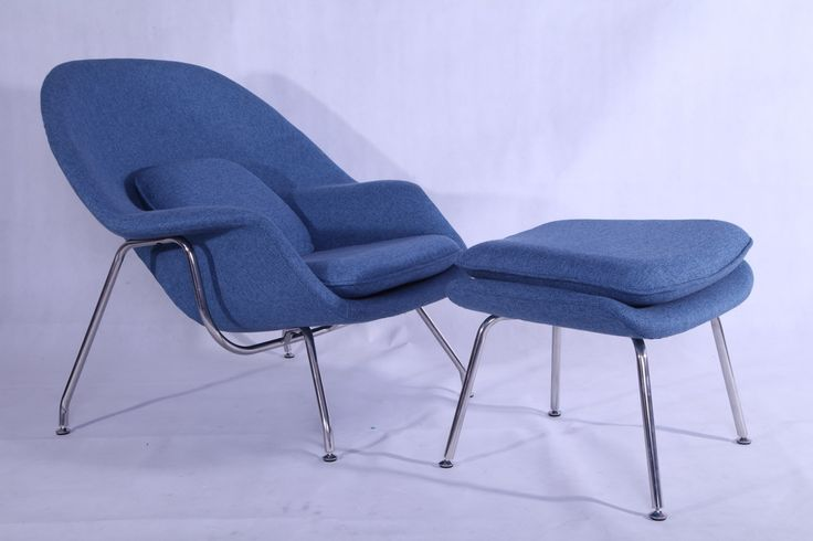 Replica Womb Chair and Ottoman