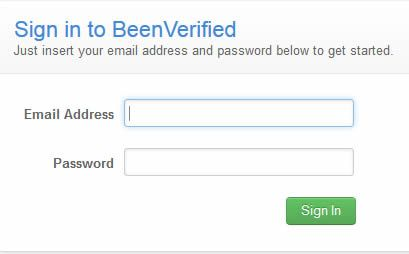 Been Verified Login How To Access Your BeenVerified Login