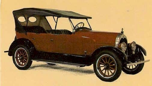 1921  Climber Model 6-50 Four Door Touring car. Climber Motor Corp. Little Rock, Ar.1919-1924