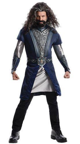 Fantasia Thorin Escudo De Carvalho - O Hobbit - Senhor Anéis