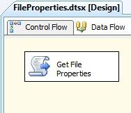 Microsoft SQL Server Integration Services: Get file properties with SSIS