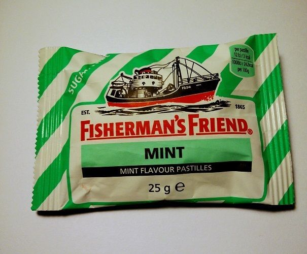Fisherman's Friend Mint Sugar Free, Made In England #Fishermansfriend