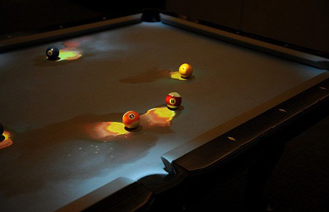 Pool table -