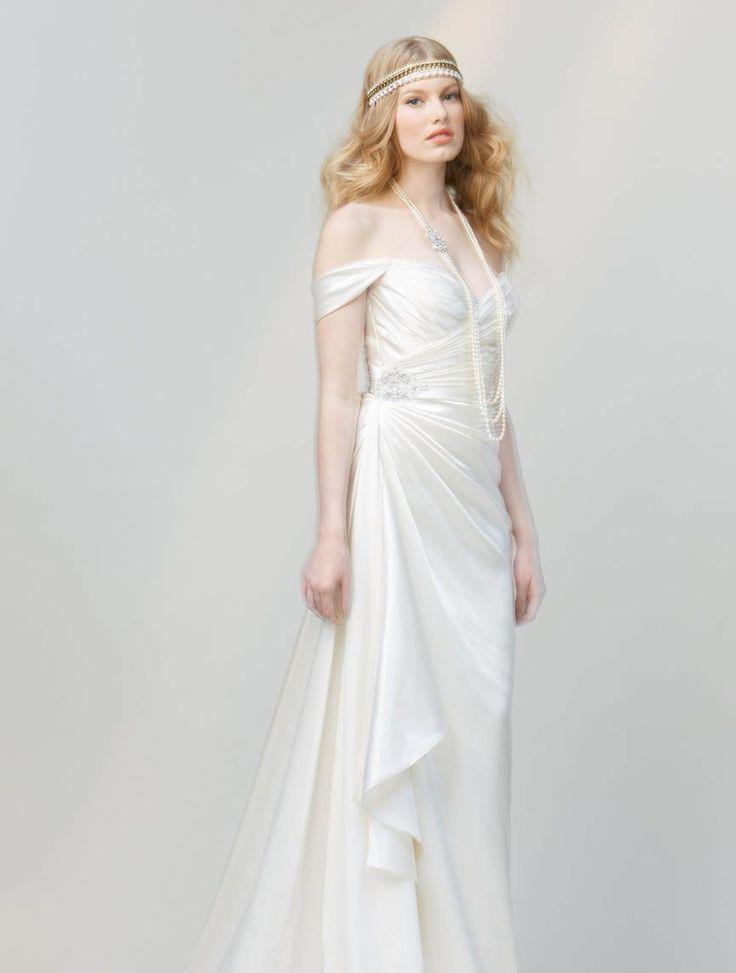Simple Flowy Wedding Dresses