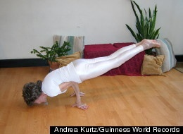 93-year-old Yoga Instructor
