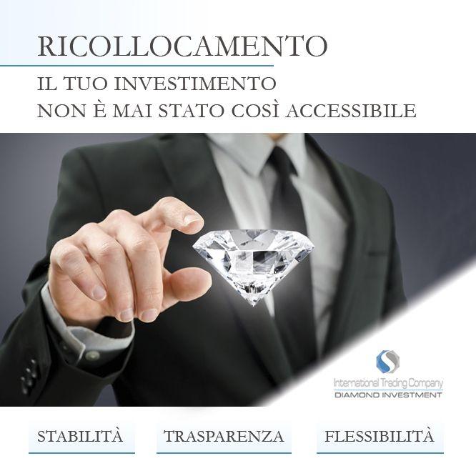 https://itcportale.it/?p=8730  Diamond Investment - Perchè investire? Investi in totale sicurezza. Vuoi saperne di più sulle tue opportunità finanziarie?  http://www.investimentodiamanti.com