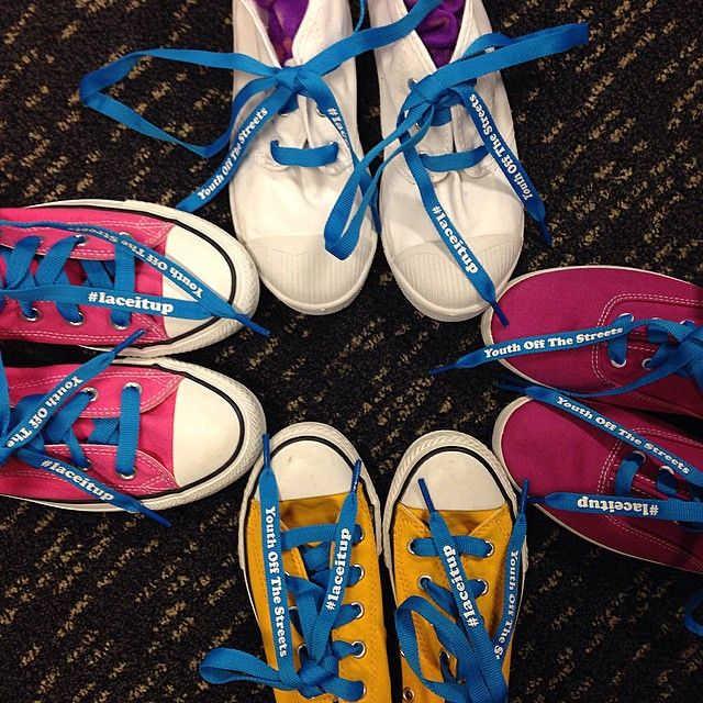 GPHQ have swapped their shoelaces for these fabulous blue laces to support @youthoffthestreets #laceitup campaign! The limited edition laces are $5 and will raise awareness and funds for young homeless people in Australia. Head to www.laceitup.com.au to buy a pair or for more deets! #laceitup #youthoffthestreets