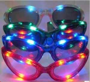 End of Yr Party  disco glasses