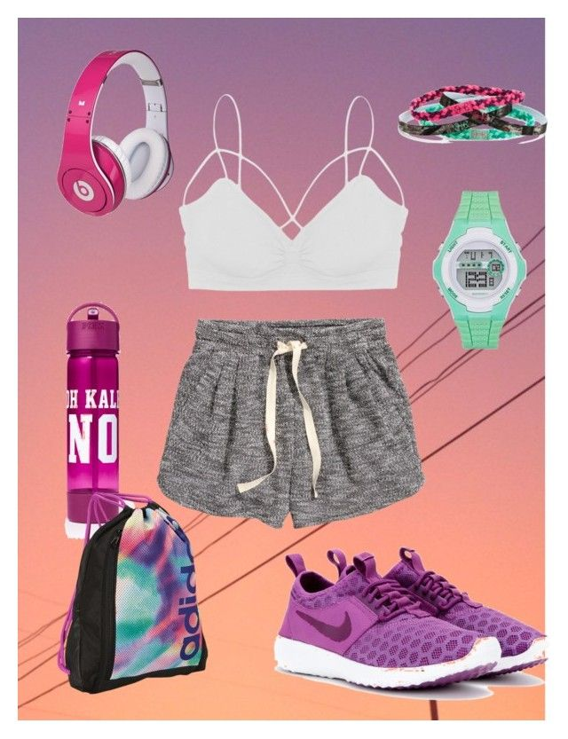 """Jane Sportwear"" by munkus ❤ liked on Polyvore featuring Humble Chic, H&M, adidas, Justin Bieber, Under Armour, NIKE, women's clothing, women, female and woman"