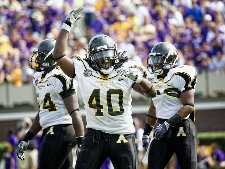 images of the appalachian football team | We nearly Appalachian Stated East Carolina