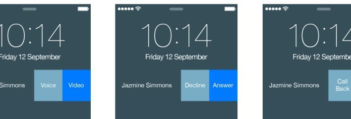 New Skype for iOS 8 uses extensions for answering calls from the iPhone lock screen