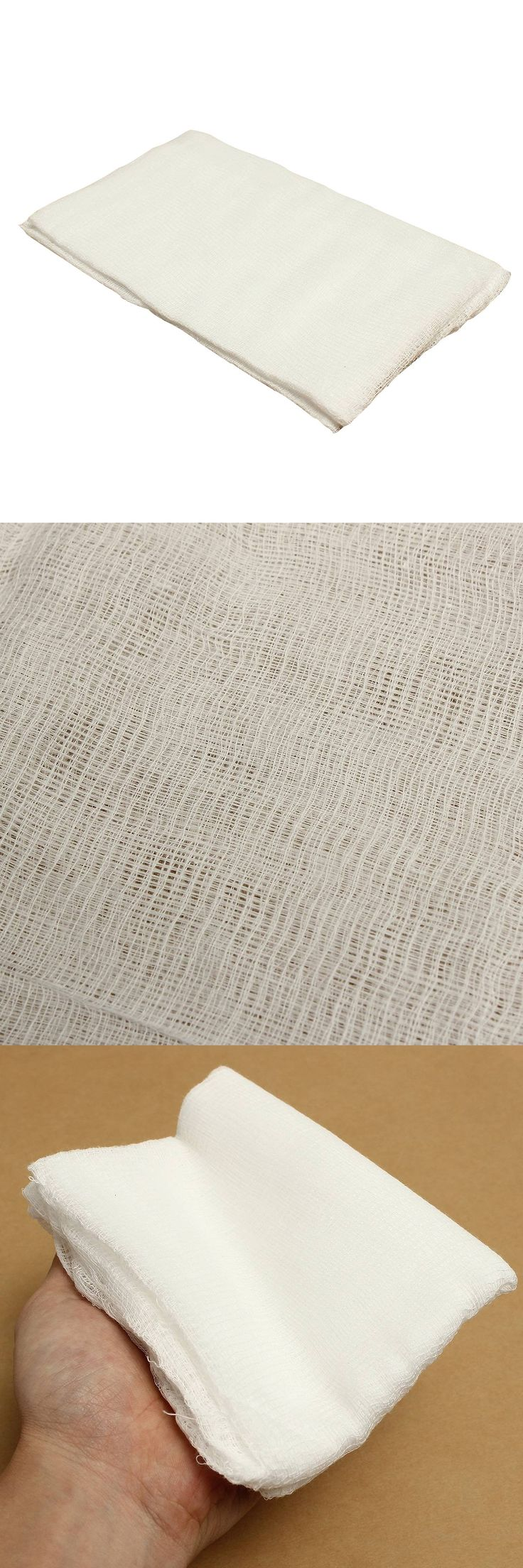 HOT-4-Yard Bleached Width 36inch Gauze Cheesecloth Cheese Making Fabric Muslin Kitchen Cooking