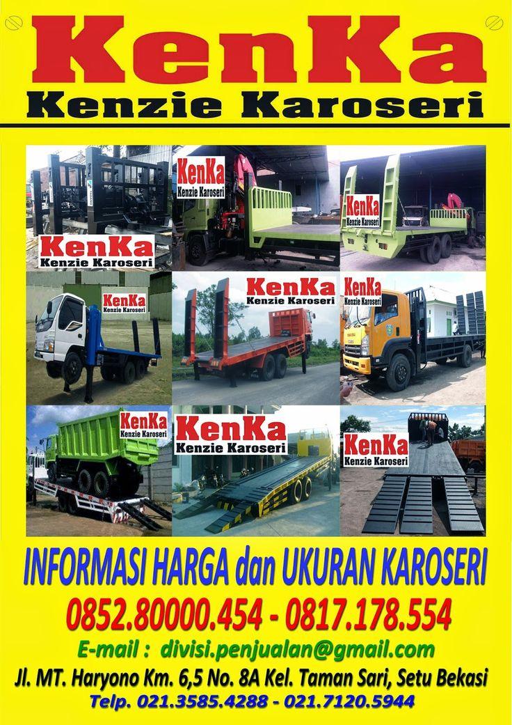 KAROSERI MOBIL TRUCK: KAROSERI TRUCK SELF LOADER