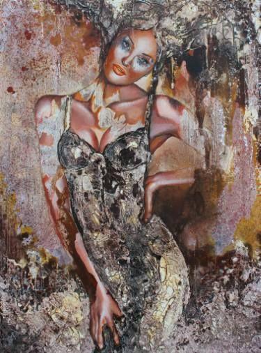 "Saatchi Art Artist Donatella Marraoni; Painting, ""I can't wait"" #art"