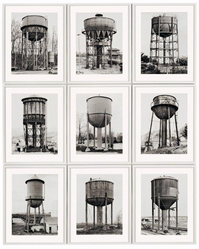 Water Towers - Bernd and Hilla Becher