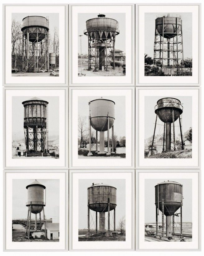 Water Towers - Bernd and Hilla Becher