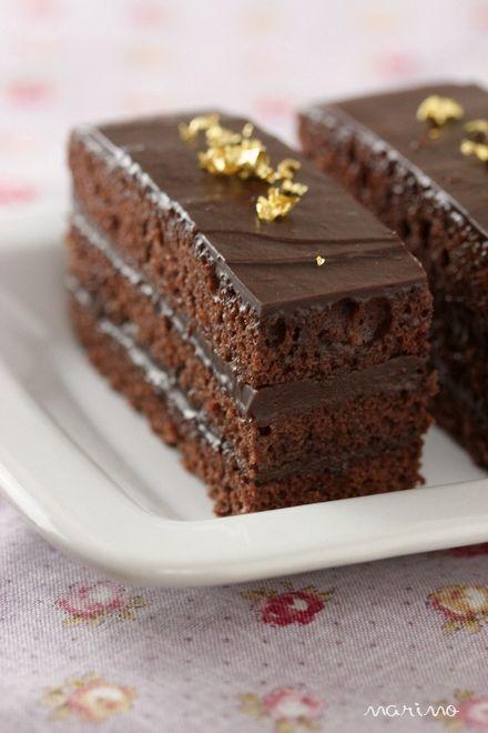 パウンド型で生チョコケーキ☆作り方
