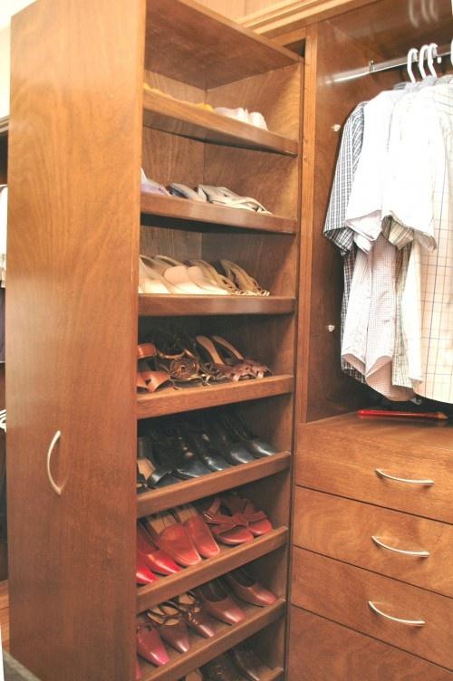 Pull Out Shoe Rack Hmm I Like Closet Shoe Storage